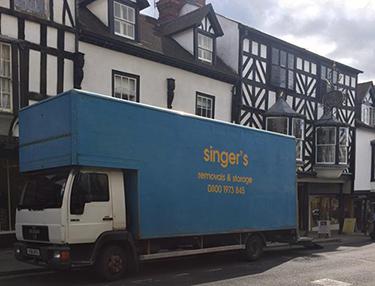 Singers Removals Van